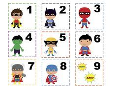 printable superhero id cards freebie download the batman pre school pack other