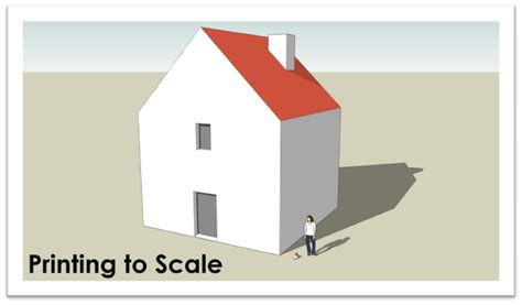 sketchup layout crop view printing to scale sketchup sage