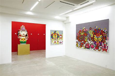 japan painting show keiichi tanaami exhibitions in japan germany hypebeast