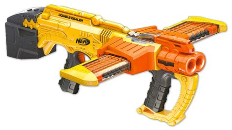 Nerf Hyperfire Orange Trigger new nerf guns are coming also a new nerf chainsaw