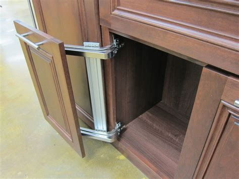 Kitchen Door Opening Mechanism How A Space Saving Kitchen Door Mechanism Can Be A Boon