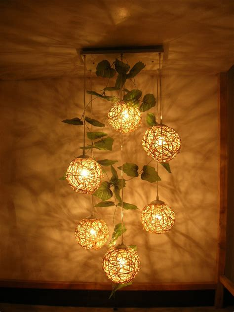 Handmade Lights - free shipping pendant light brief rattan handmade
