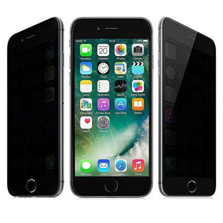 privacy apple iphone 7 plus iphone 8 plus 5 5 inch screen protector walmart