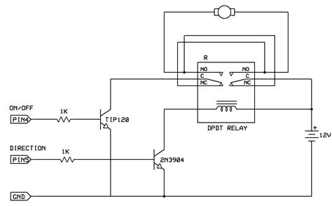 remote rf or ir control of dc motor electrical