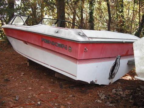 1987 renken boat gone 1987 renken 19 ft fiberglass pleasure boat