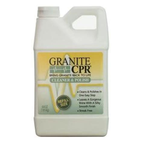 granite cpr 128 oz cleaner and sealer gc 128 the