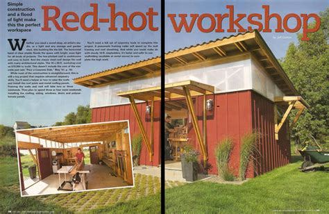 Family Handyman Shed by Wood Work Family Handyman Shed Pdf Plans