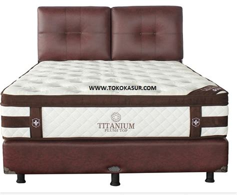 Springbed The Luxe Mattress Reveire Titanium 100x200 central titanium toko kasur bed murah simpati furniture