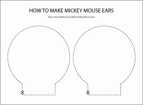 minnie mouse ear template printable minnie mouse template mouse coloring page for