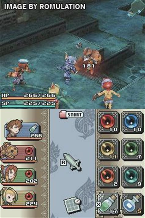 Ring Of Fates Nds Nintendo Chronicles Ring Of Fates Usa Nds