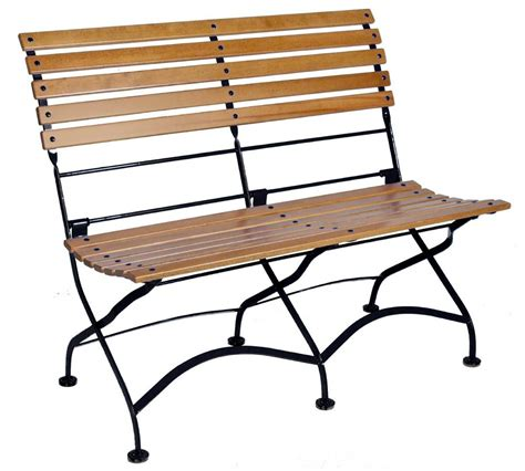 folding teak bench amazon com furniture designhouse french caf 233 bistro 2