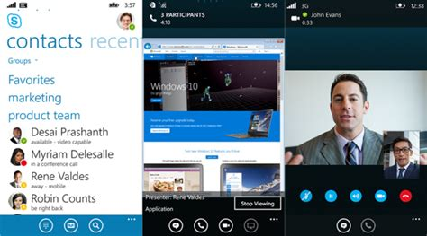 3 mobile business skype for business debuts on windows phone