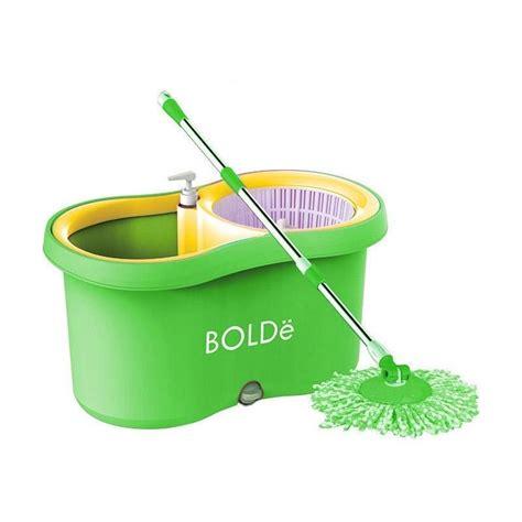 Alat Pel Mop Bolde Pembersih Lantai Efektif Anti Bak Berkuali jual bolde mop m 169x new pel lantai hijau