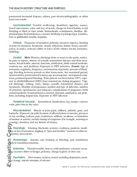 comprehensive health history template 28 comprehensive history and physical template