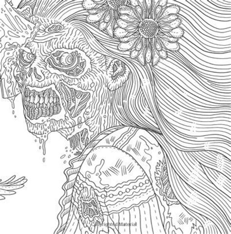 the of horror a goregeous coloring book 17 best images about coloring pics on