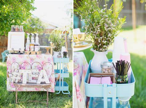 Baby Girl Garden Tea Party Shower Diana Elizabeth Garden Tea Baby Shower Ideas