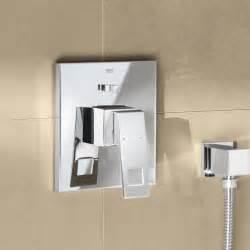 Bath Shower Mixer grohe eurocube up einhand wannenbatterie 19896000