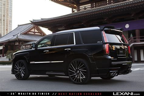 cadillac escalade black rims lexani wheels on 2016 cadillac escalades