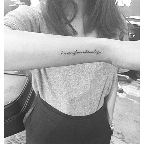 love fearlessly tattoo 25 best ideas about fearlessly on
