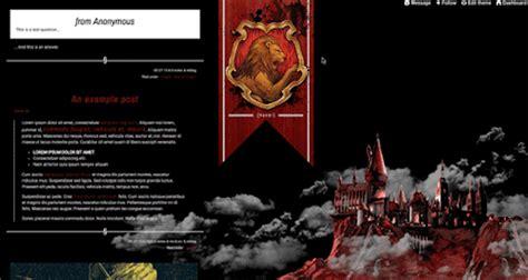themes tumblr harry potter harry potter theme on tumblr