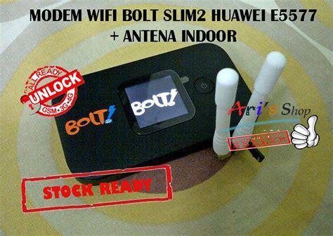 Modem Bolt 4g Slim 2 jual modem wifi 4g lte bolt slim2 slim 2 huawei e5577