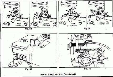 Briggs And Stratton Governor Linkage Diagrams small engines 187 briggs and stratton governor linkage