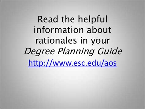 Suny Empire State College Mba Reviews by How To Write The Rationale Essay