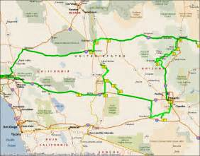 road map of nevada and arizona tri state california nevada arizona photo minh lang