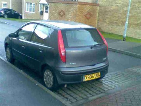 Fiat Punto Insurance Fiat Punto Elv 8v Low Tax And Insurance Mot Car For Sale
