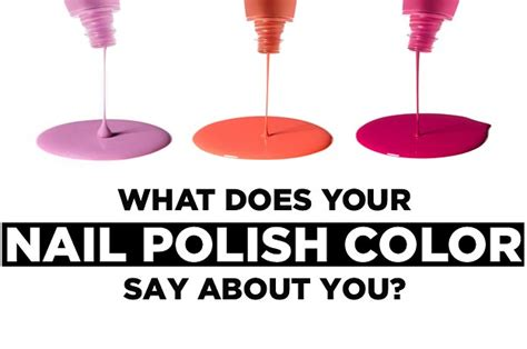 what does your bedroom color say about you what does your nail color say about you
