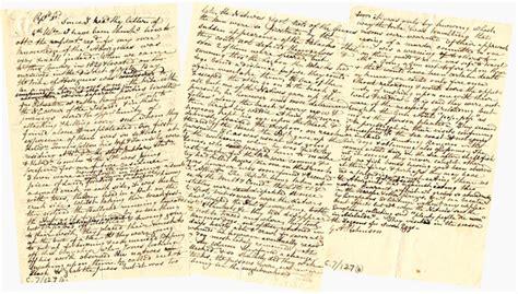 Letter Tasmania George Fordyce Story Library Of Tasmania Australia