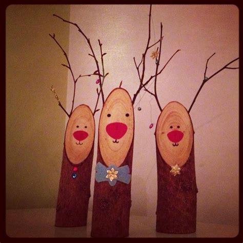 wooden decorations best 25 wooden reindeer ideas on