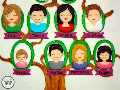 imagenes de la familia para arbol genealogico 193 rbol geneal 243 gico family tree cookie planeta cookie