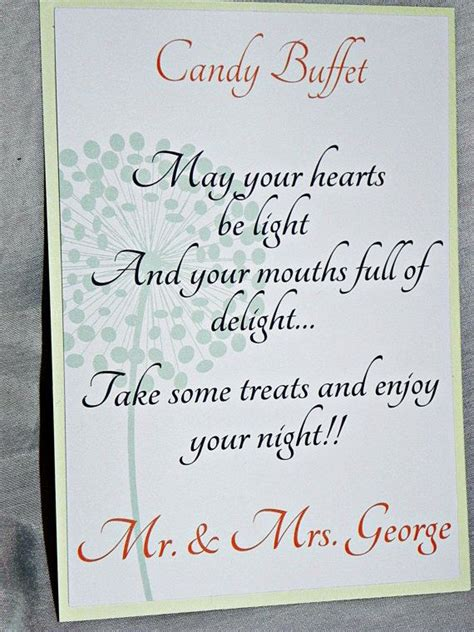 wedding candy buffet signs printable wedding sign candy