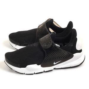 Nike Sock Dart Gs Slip On Blackwhite nike sock dart gs black white youth classic slip on running shoes 904276 001 ebay