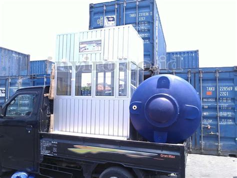 Mesin Isi Ulang Air pengiriman unit mesin air minum isi ulang gorontalo inviro