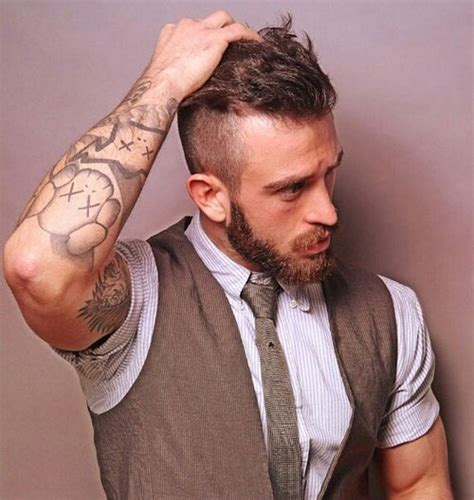 best hair styles to compliment a beard 33 best beard styles for men 2018