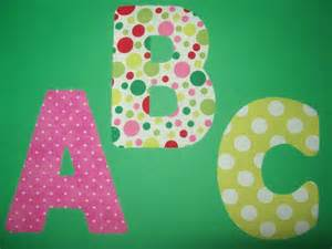 applique alphabet templates applique letters easy template free title nazvanie