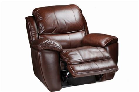 the recliner crosby leather rocker recliner