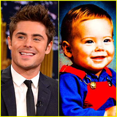 zac efron baby zac efron s baby photo is the ultimate throwback picture