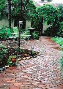 brick patios here s a brick patio design with a