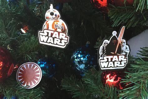 wars tree ornaments wars the awakens ornaments disney family