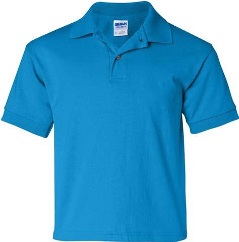 Kaos Polos Gildan Blue Sapphire Size M gildan youth 5 6 oz gildan dryblend 50 50 jersey knit polo shirt 8800b ebay