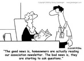 hilarious hoa stories fun fridays community newsletter florida association news blog