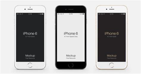 Iphone Psd Template Free Iphone 6 Psd Vector Mockup Psd Mock Up Templates Pixeden