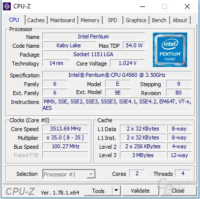 Intel Pentium Processor G4560 3m Cache 3 50 Ghz 1 the intel kaby lake pentium g4560 a new budget cpu king