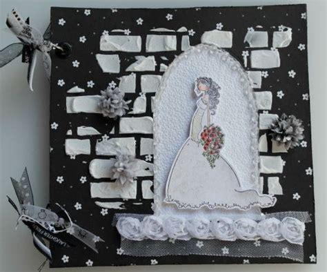 Handmade Wedding Albums Uk - ooak handmade church wedding arched doorway scrapbook