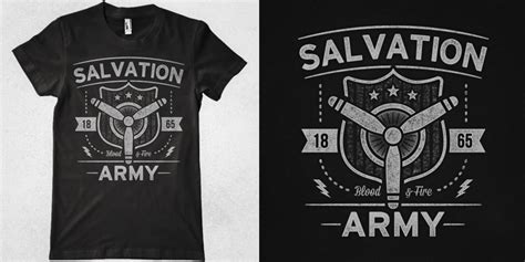 Salvation Army Wardrobe by Blood And T Shirt Design By Marek Mundok Mintees