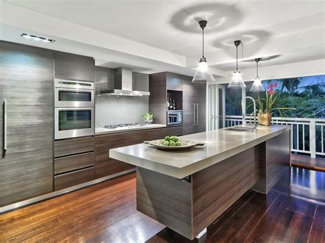 australian kitchen ideas floorboards in a kitchen design from an australian home kitchen photo 265657