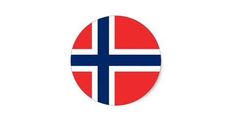 Baby Bath And Shower flag of norway sticker circle zazzle com